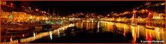 Looe Bridge Christmas Lights