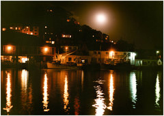 Moon Over East Looe, 1998.