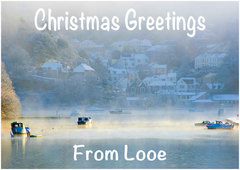 Looe Christmas Card 1.
