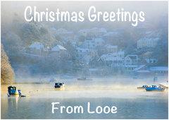 Looe Christmas Card 1.